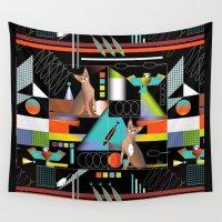 predator Wall Tapestries featuring Predator by Vannina