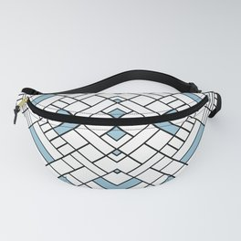 PS Grid 45 Sky Blue Fanny Pack
