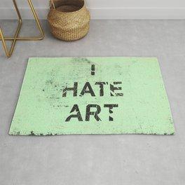 I HATE ART / PAINT Rug