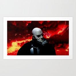Vader/ Mustafar Art Print