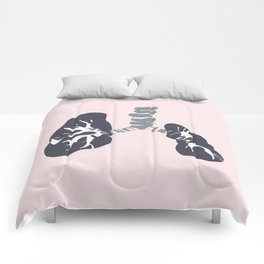 Abstract Lungs Comforters