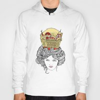 montreal Hoodies featuring The Queen of Montreal by Jesse Robinson Williams