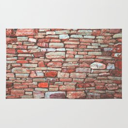 Brick Wall (Color) Rug