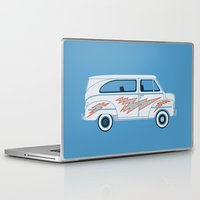 grease Laptop & iPad Skins featuring Grease Van Lightning by Brandon Ortwein