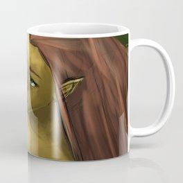 Female efl in water Coffee Mug