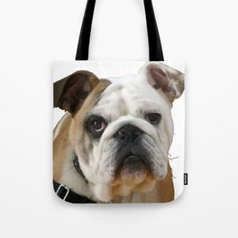 American Bulldog Background Removed Tote Bag