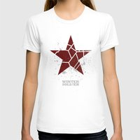 winter soldier T-shirts featuring Codename Winter Soldier by Bonnie Detwiller