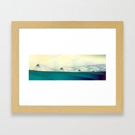 A Day of Sail Boat Racing Framed Art Print