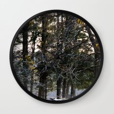Lil Bo Peep's Forest Sheep Wall Clock