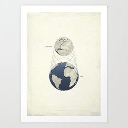 Growing Earth Art Print