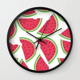Watermelon Summer Wall Clock