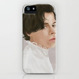 Harry Styles Illustration (One Direction) iPhone Case