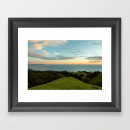 Mt Tamalpais Framed Art Print