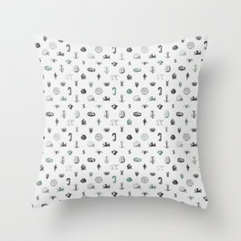 House of the Cunning - Pattern I Throw Pillow