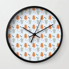 Summer Pines Wall Clock