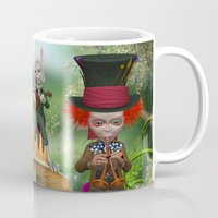 concert Mugs featuring Night Concert by Simone Gatterwe