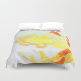 Positively Okay. Duvet Cover
