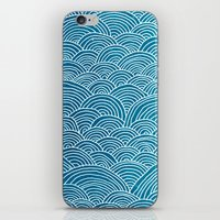 waves iPhone & iPod Skins featuring Waves by Arcturus