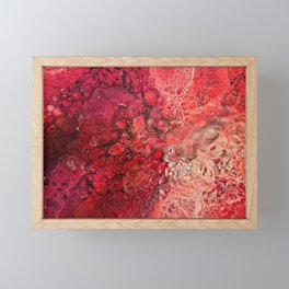 The Textures Of Mars Framed Mini Art Print