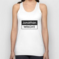 logo Tank Tops featuring Logo by Jonathan Wright Productions