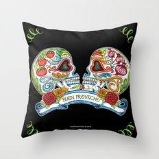 Buen Provecho ! Bon Appetit Throw Pillow