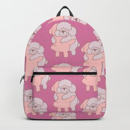 Poodle Hugs Backpack