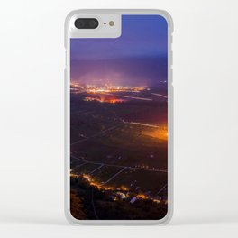 Nightscape 02 Clear iPhone Case