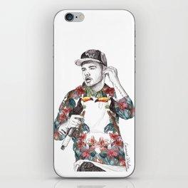 Liam Floral iPhone Skin