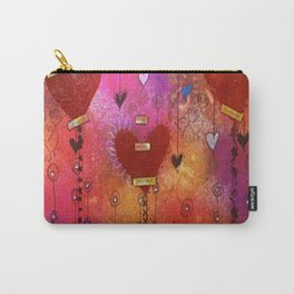 Hearts of Love Carry-All Pouch