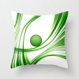 Green 113 Throw Pillow