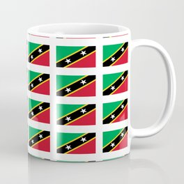 Flag of Saint Kitts and Nevis-Saint Christophe,Saint Kitts,Nevis,Kittian,Nevisian Coffee Mug