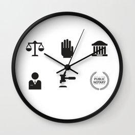 An Honest Lawyer Wall Clock