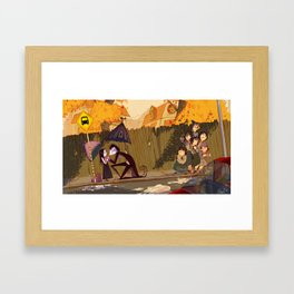 """""""Have a Good Day, sweetie!"""" Framed Art Print"""