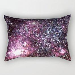 Galaxy Low Poly 21 Rectangular Pillow