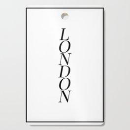 London Cutting Board
