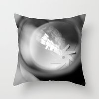 aperture Throw Pillows featuring Aperture Lashes by Aperture