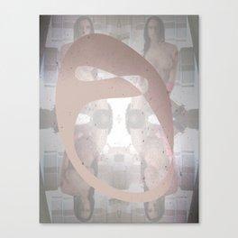 Sexz mask Canvas Print