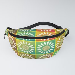 Floral tessellation Fanny Pack