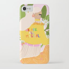 We are magical iPhone Case