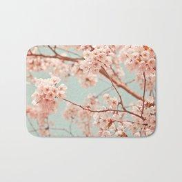 blossoms all over Bath Mat