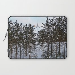 Windmill Through the Trees Laptop Sleeve