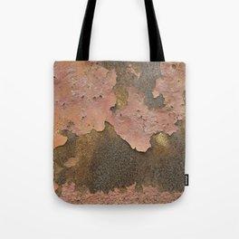 Texture #18 Rust Tote Bag
