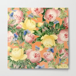 Flora #society6 #decor #buyart Metal Print