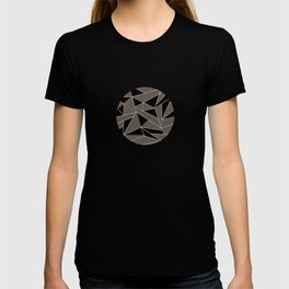 Geometric Abstract Origami Inspired Pattern T-shirt