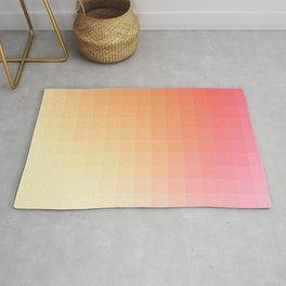 Lumen, Pink and Orange Light Rug