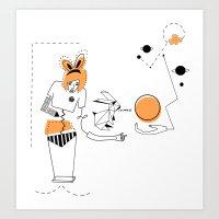 Gagga in Wonderland Art Print