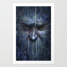 …and I Must Scream Art Print