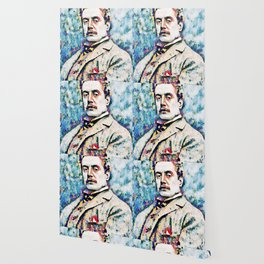 Giacomo Puccini (1858 – 1924) digitized photography Wallpaper