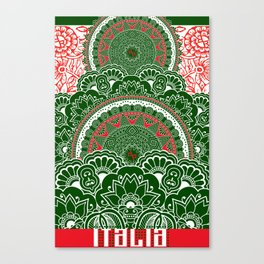 Italy Lover Italian Culture Italian American Gift Canvas Print