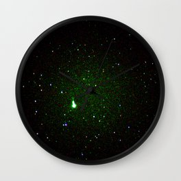 space noise. Wall Clock